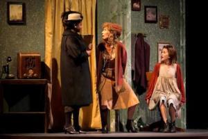 Miss Hannigan in Annie Jr. Stages Theatre Company. Photo: Bruce Challgren, photopixels.com